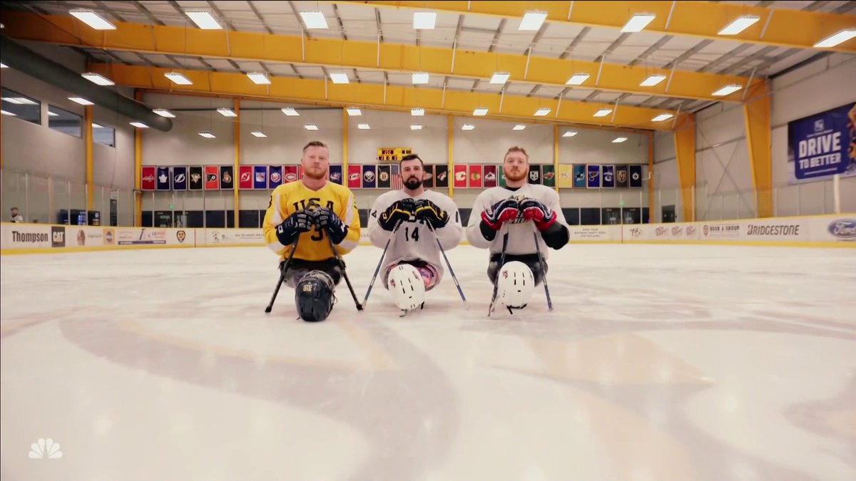 Three Marines who moved to Nashville to fully commit to the sport of sled hockey and each other, have found a love and bond for their service and the game that only keeps getting stronger. #HDIA ❤️  This is the story of Ben Maenza, Joseph Woodke, and John Curtin. 🇺🇸 https://t.co/4yKZLK4R5S