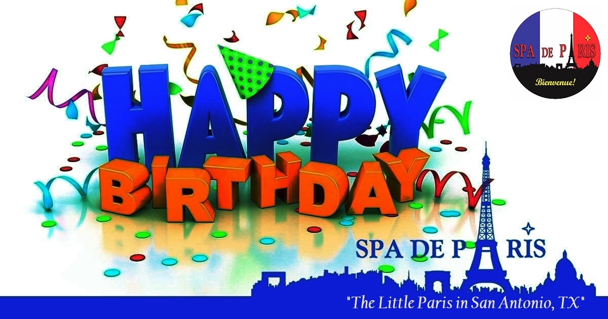 ENJOY 30 % ON SELECTED DAYS OF YOUR BIRTHDAY WEEK;-) Enjoy to save Your SPOT CALL 210-401-4266 #FSA   #Massage #Couplemassage #SkinCare #Waxing #SpaDay #DaySpa #Sauna #birthday #Cafe #Bistro #Wine  #Love https://www.spadeparis.com/specials-discounts…pic.twitter.com/QavPz3ikOY