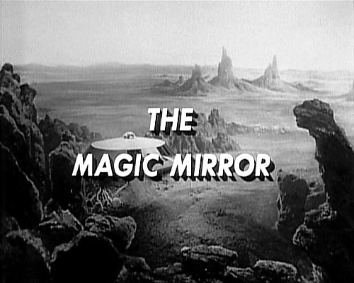 """Penny stumbles into an alien mirror and finds a universe occupied by one very lonely boy when #MichaelJPollard guest-stars in the science fiction series #LostinSpace episode """"The Magic Mirror"""", airing on this date in 1966.pic.twitter.com/JpCmvsLFUU"""