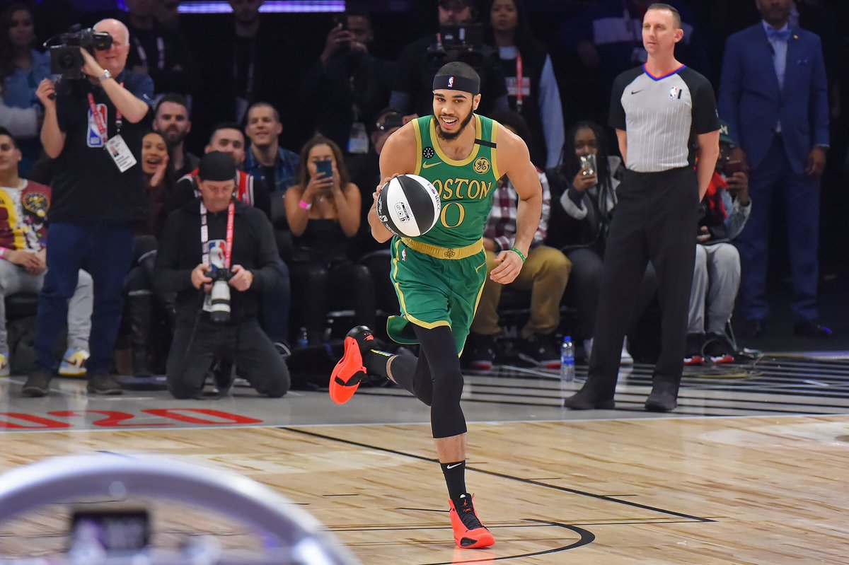 #ad #StateFarmSaturday didn't turn out how I wanted it to, but it was a lot of fun!! What an incredible time at #NBAAllStar so far.