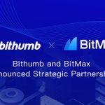Image for the Tweet beginning:  and Bithumb Korea are