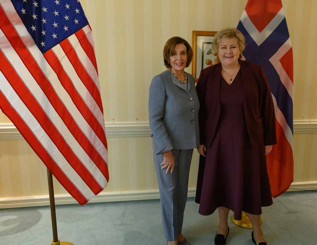 A conversation with Norwegian Prime Minister @Erna_Solberg shared Norway's perspective on the state of the Afghanistan peace talks and security in the Arctic Circle.