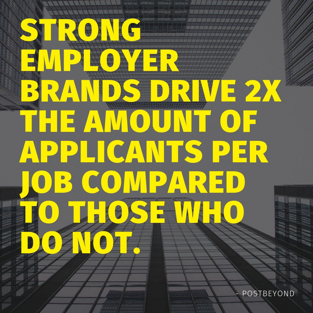 Employee engagement affects a company's brand.  #hrtribe #employees #brands pic.twitter.com/XHD1J26ryO