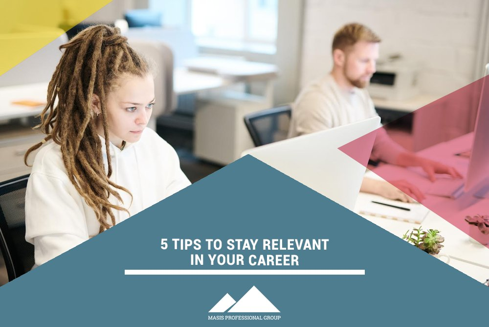Not sure how to keep moving your way to the top? We have 5 Tips To Stay Relevant In Your Career: https://bit.ly/38NDaDt #careertip #successpic.twitter.com/IYepnLYPo4