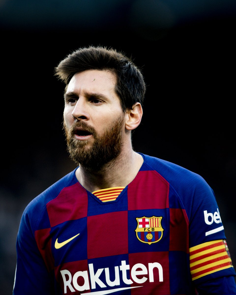 Bu sezon Barça'da Leo #Messi:   27 maç 19 gol 16 asist   🐐