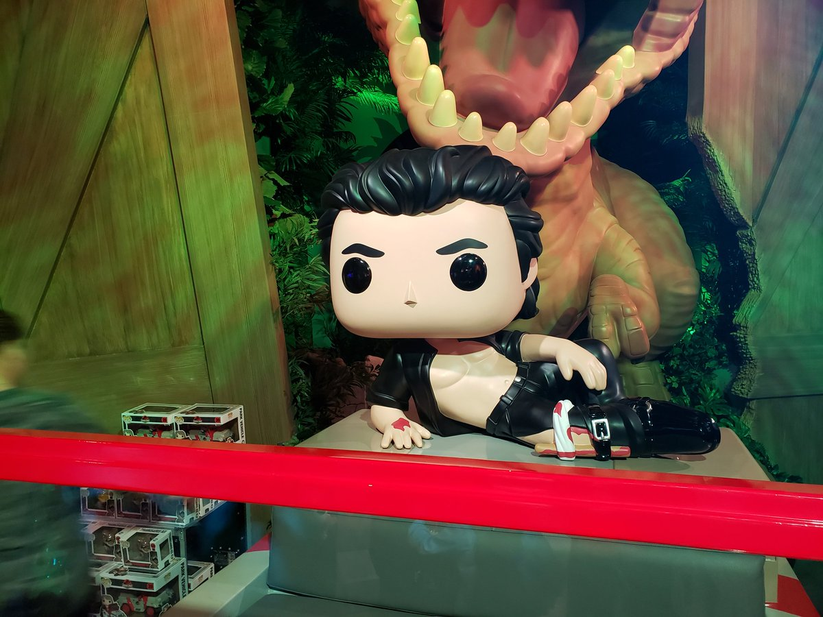 @stevebyrnelive Just hanging out in the Funko Pop store in Hollywood. It's magic!