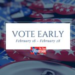TWO DAYS until #EarlyVoting begins! https://t.co/REe5YzRay1 #txlege