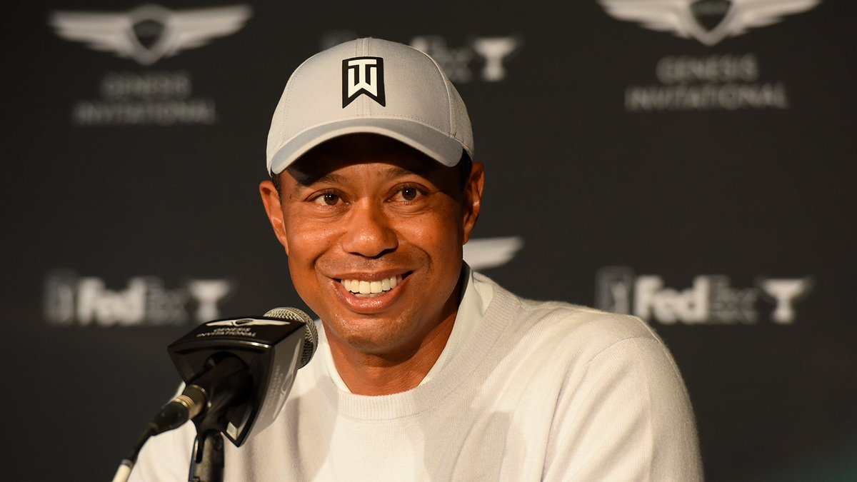 Tournament host @TigerWoods  was pretty busy this week.