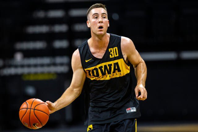 Can we give this guy some credit? Played every minute of the game, had 7 assists, 0 turnovers, made the game clinching free throw, and leads the nation in assist/turnover ratio. The stabilizing force of the Hawkeyes. @connor_m30<br>http://pic.twitter.com/weYbIQi6sU