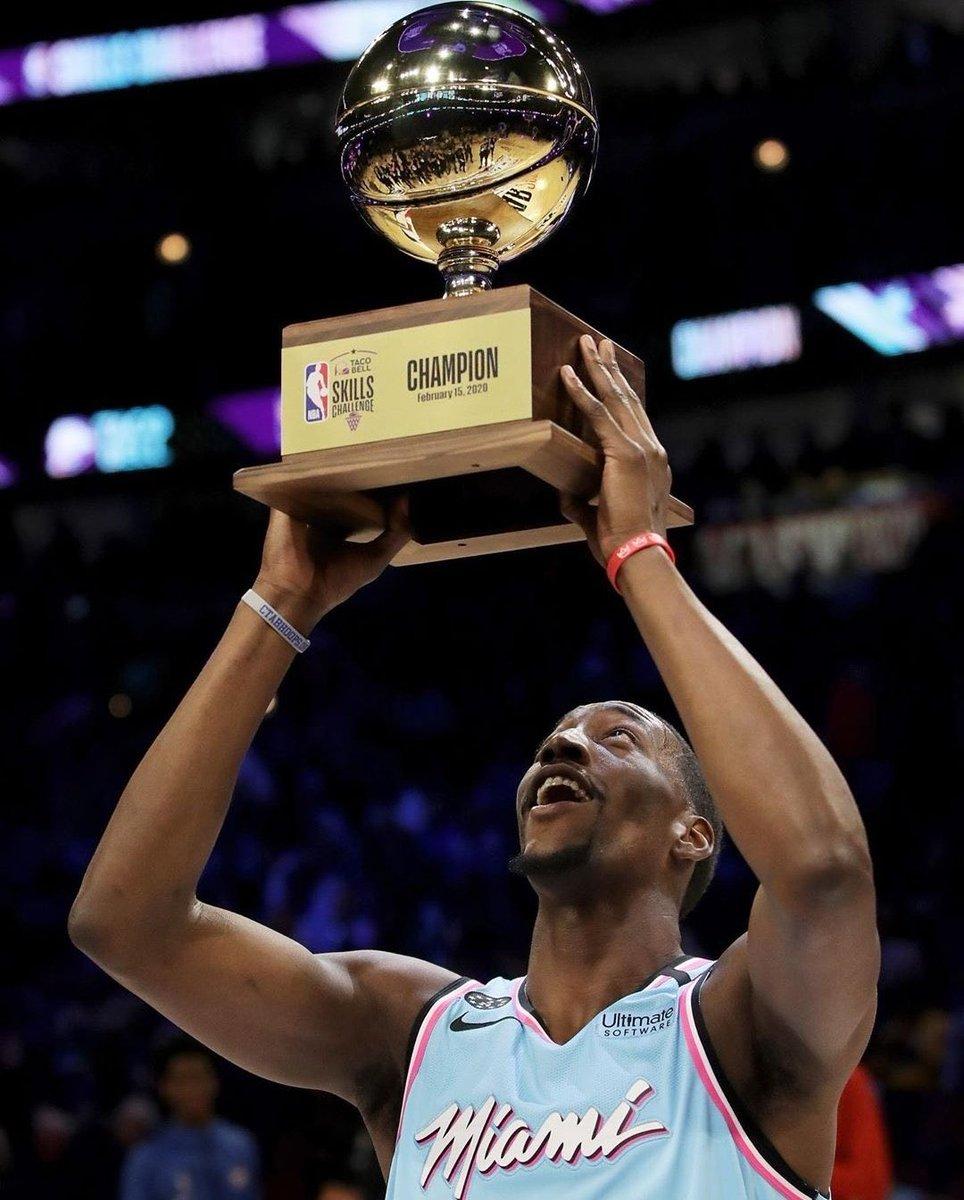[HIlLO] #NBA Vamos con lo mejor de la noche del sábado (#StateFarmSaturday) que coronó campeón a:  Bam Adebayo en el Torneo de Habilidades #TacoBellSkills  Buddy Hield en el Concurso de Triples #MtnDew3PT  Derrick Jones Jr en el Torneo de Volcadas #ATTSlamDunk  #NBAAllStar