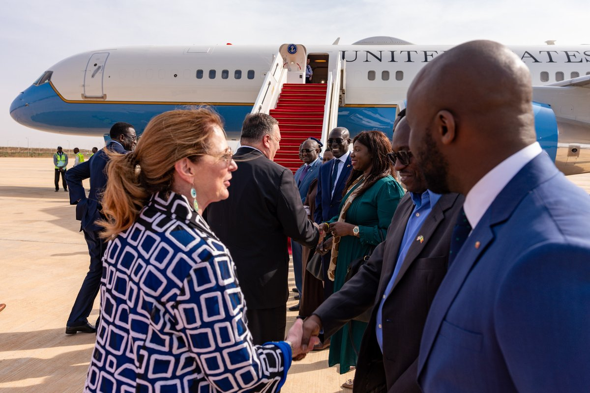 #Senegal, thank you for the teranga! My visit to Africa is off to a great start, and I'm looking forward to my next stop: Luanda, #Angola.