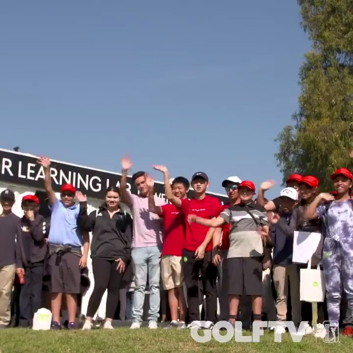 The Genesis Invitational is about more than great golf. The @TGRFound  Learning Lab powered by @CDWCorp  brought its award-winning programs to Riviera for all guests to experience