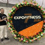 Image for the Tweet beginning: Wow @ExpofitnessCol was amazing! Huge