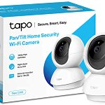 Image for the Tweet beginning: TP-Link Pan/Tilt Security Camera, Indoor