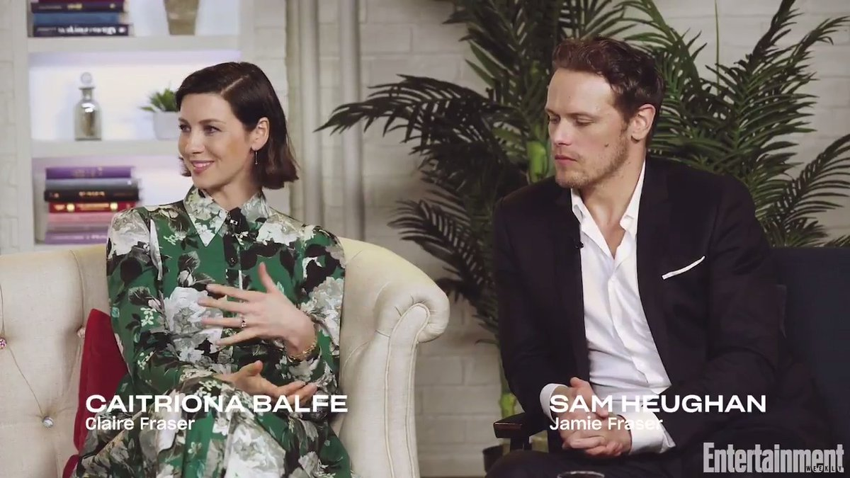 There's never a dull moment on set when there are kids around, just ask @caitrionambalfe, @SamHeughan, @RikRankin, and @SkeltonSophie from @Outlander_STARZ.