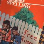 Image for the Tweet beginning: No wonder I loved spelling