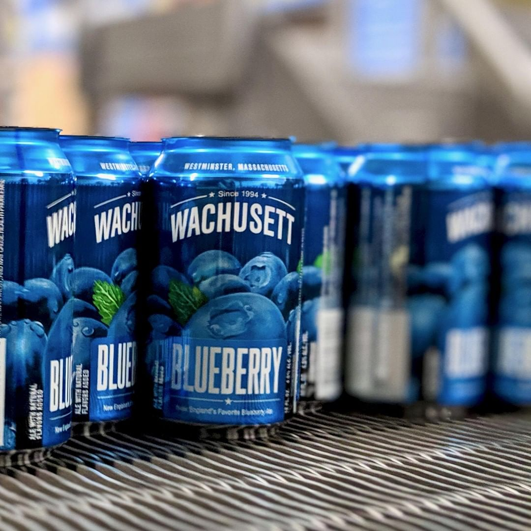 @WachusettBrew Blueberry is light and crisp, with a hint of fresh blueberry.#WachusettBrewing