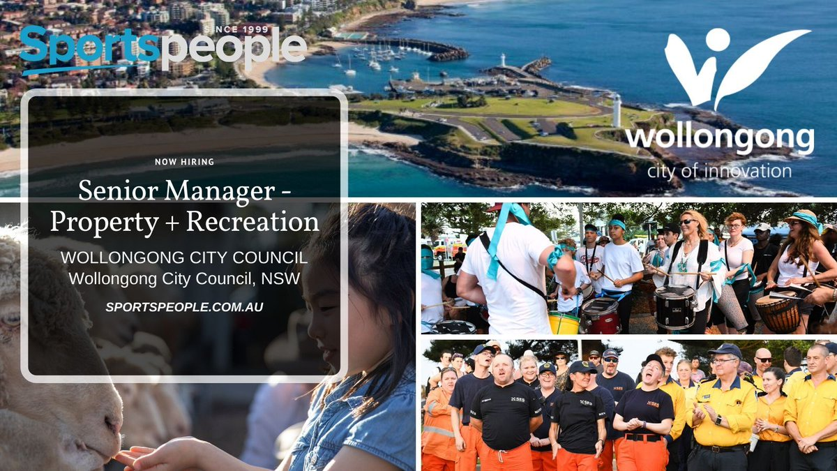 [SPORTSLEADERS] Senior Manager - Property + Recreation - @Wollongong_City Council. Full Time. Wollongong City Council location. Closing 24 Feb 2020. Apply@ http://bit.ly/38rONAq  (see more government council jobs: http://bit.ly/31RvkGR ) #sportspeople #sportjobspic.twitter.com/5lLNs6jBs9
