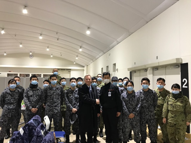 Our team at @usembassytokyo is working diligently with our Japanese partners to bring home Americans on board the #DiamondPrincess cruise line. The @StateDept continues to work to respond to #COVID-19 around the world. Assisting affected Americans is a key part of this effort.