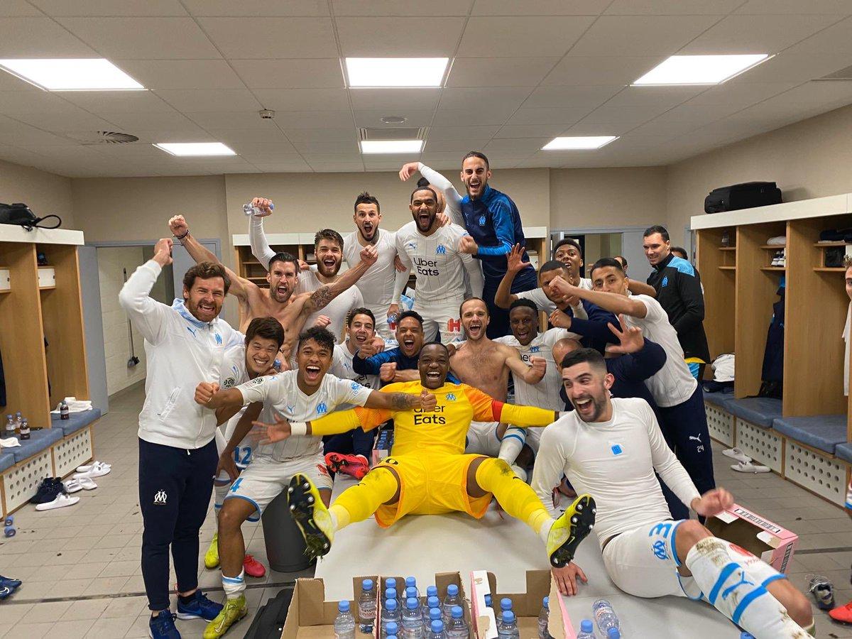 Olympique de Marseille ⚪️Ⓜ️ https://t.co/6d4pcj5ciq