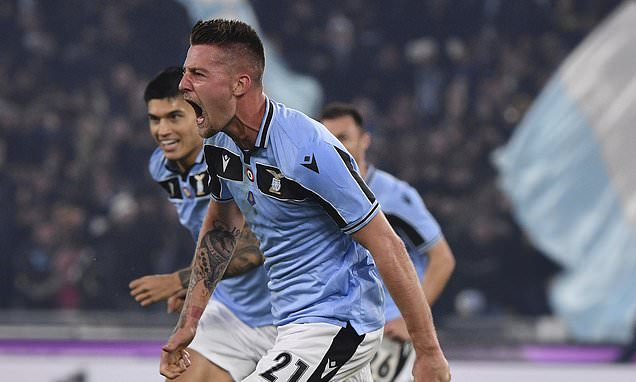 Lazio vs Inter Milan Highlights, 16/02/2020