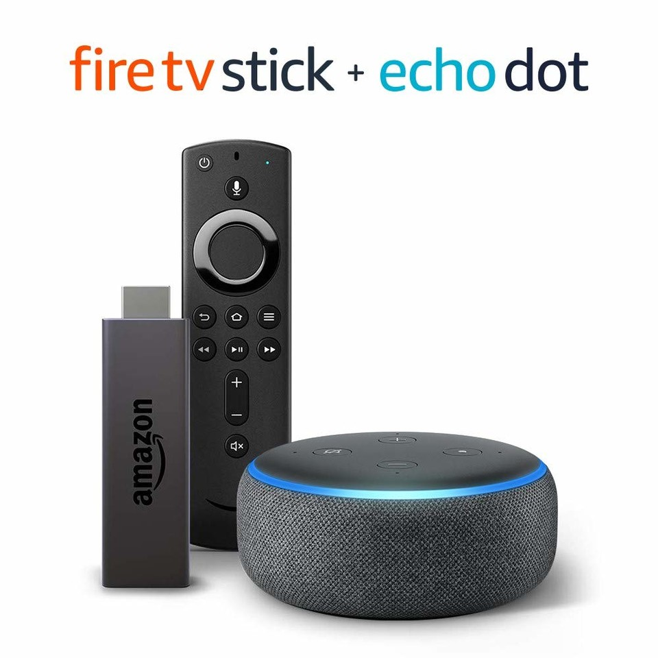 Save $25 off Fire TV Stick bundle with Echo Dot (3rd Gen - Charcoal) for $64.98!  https://amzn.to/2tXPna7   #smarthome #homeimprovement #vday #amazondealspic.twitter.com/9nj4qQwiLt