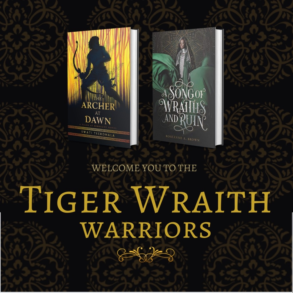 Tiger Wraith Warriors badge