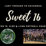 Image for the Tweet beginning: Sweet 16 vs. Savannah at