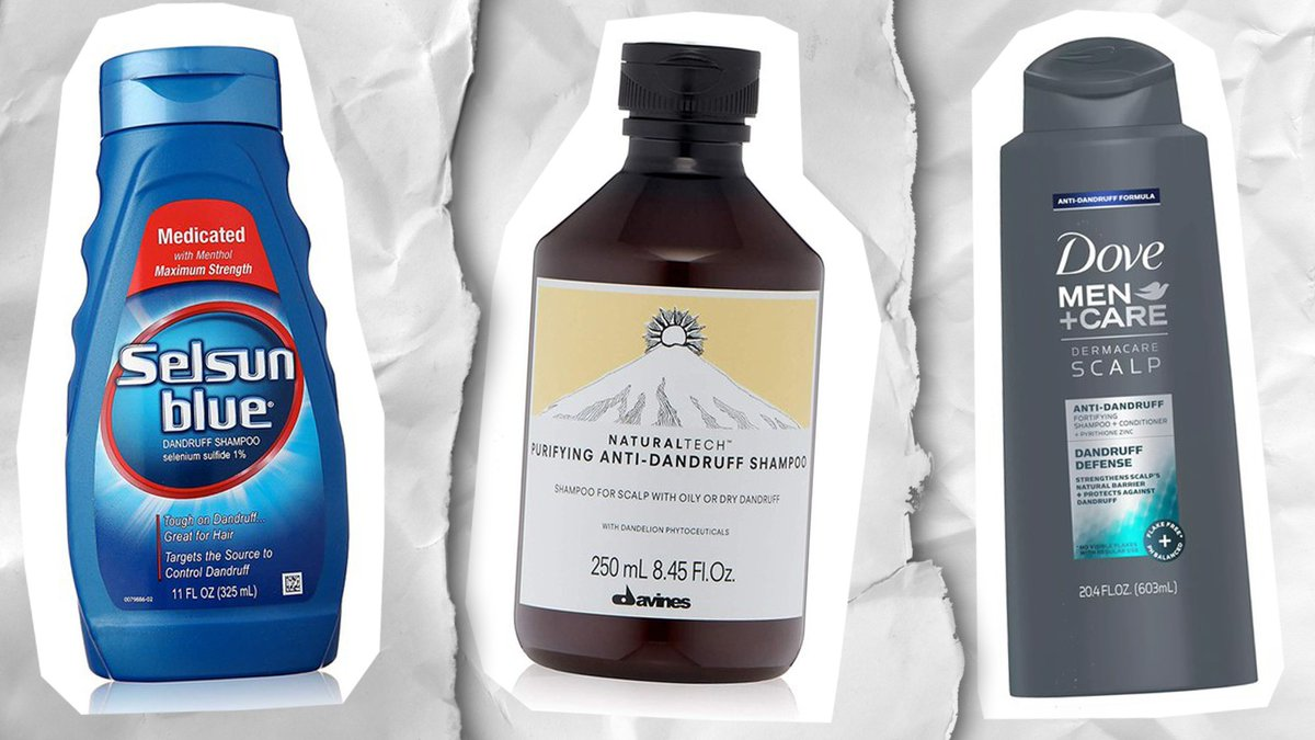 The best dandruff-busting shampoos, serums, masks, and conditioners gq.mn/Tg0Y952