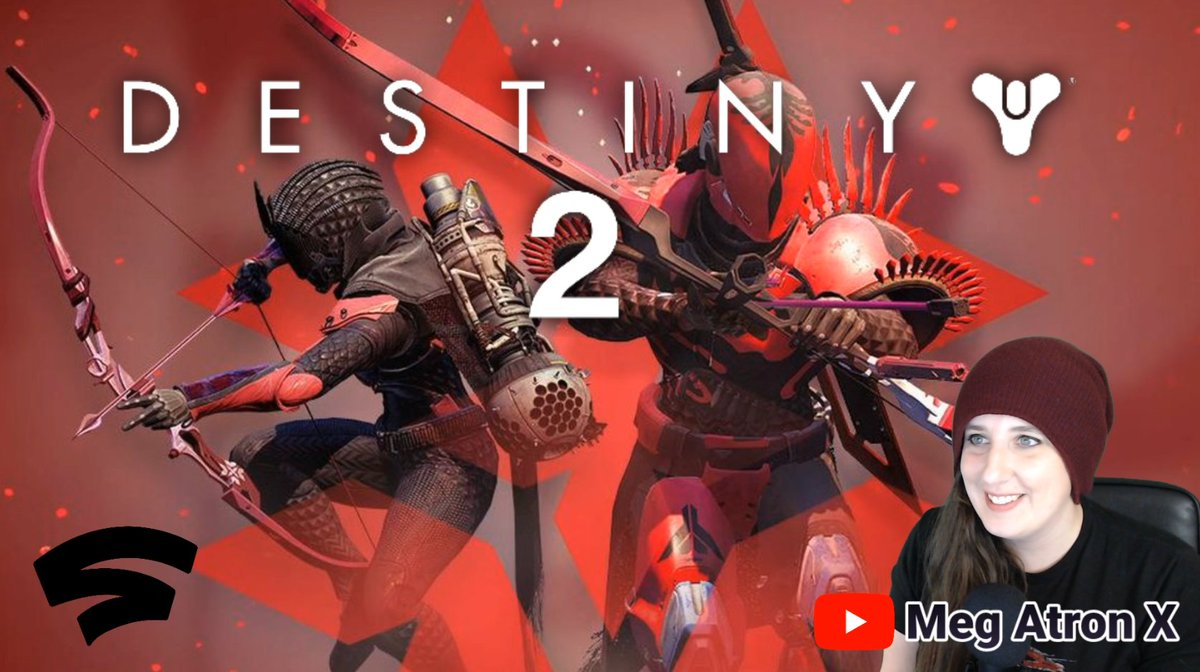 🔴 LIVE | #Stadia | Destiny 2 CRIMSON DAYS Gameplay | MegAtronXhttps://youtu.be/m1jL6k1VEVk