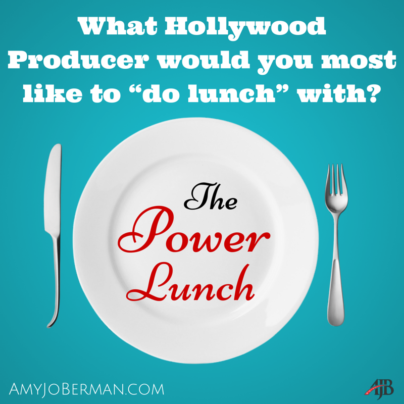 "What Producer would you love to sit down and ""do lunch"" with? #Hollywood #actorslife #DreamBigpic.twitter.com/jPiaZqg71R"