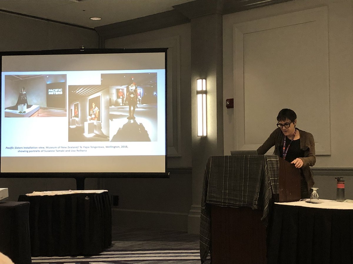 #latertweet loved #AmeliaJones keynote talk yesterday on Transnational #Feminism, #Queer #PerformanceArt in New Zealand, from her forthcoming book  @caavisual #CAA2020pic.twitter.com/3wxdiRrjyx – at Hilton Chicago Continental Ballroom