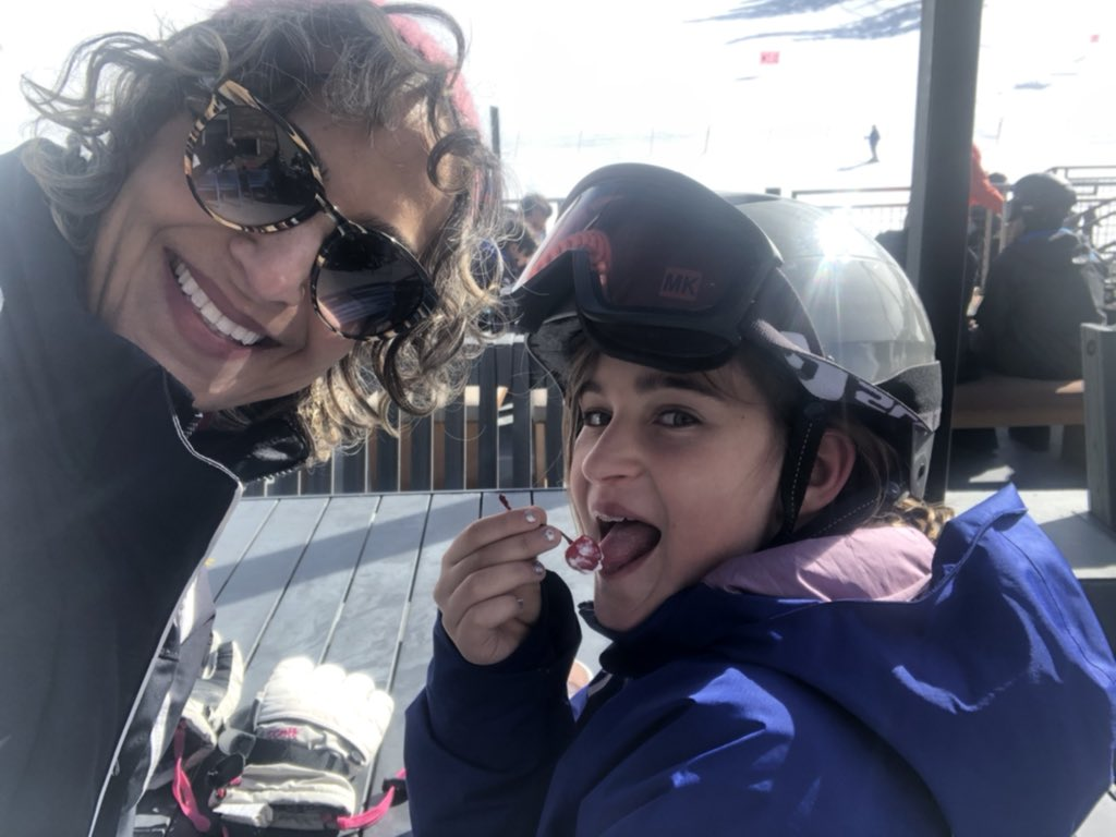 Some much needed #girltime  As a #WomenInMedicine I don't get to spend as much time with my daughter as I would like. #vacation #skiing @MammothMountain  Life is a juggling act, trying not to let the family ball drop #ACCWICpic.twitter.com/FuxZEIxKKN – at Main Lodge