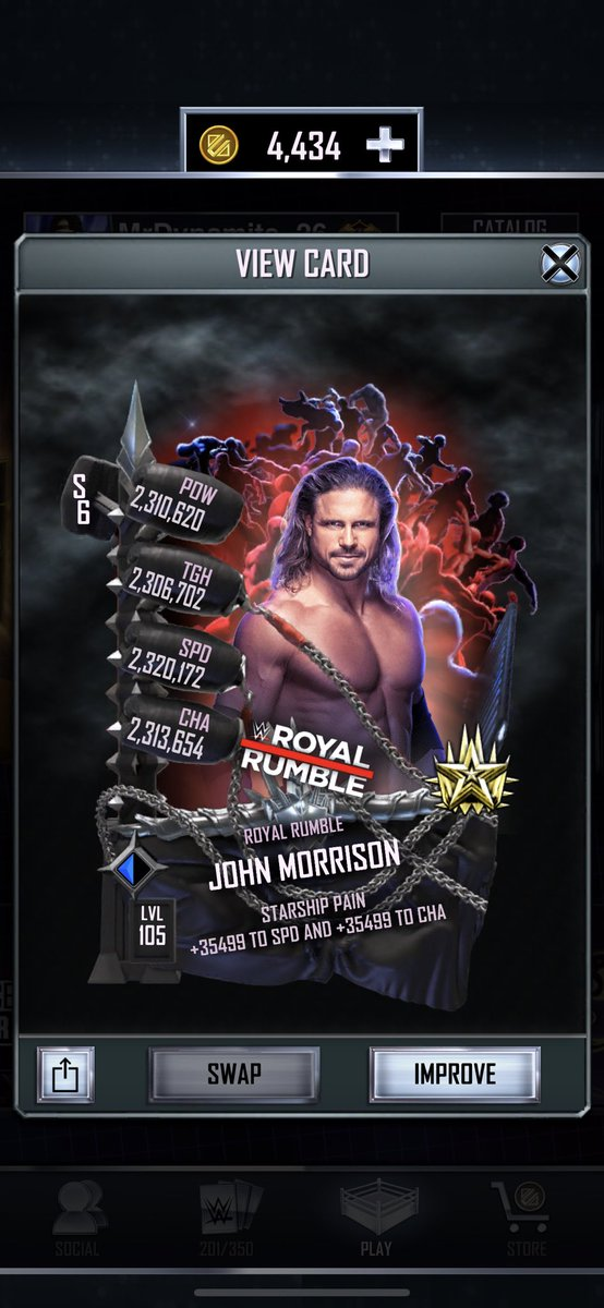 @TheRealMorrison Full Heroic Event Card done in a #GrindNeverEnds #NiceAnDSlow #WWESuperCard  pic.twitter.com/4Cg9isnfuQ