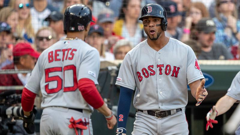 Xander Bogaerts isn't closing the door on a possible Mookie Betts return in free agency.