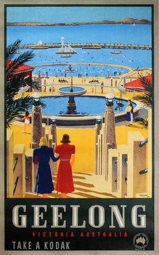 New Oceana #vintageposter Geelong Victoria Australia #posterteam More info here: http://bit.ly/38zkwQapic.twitter.com/gdXGAvmQYr