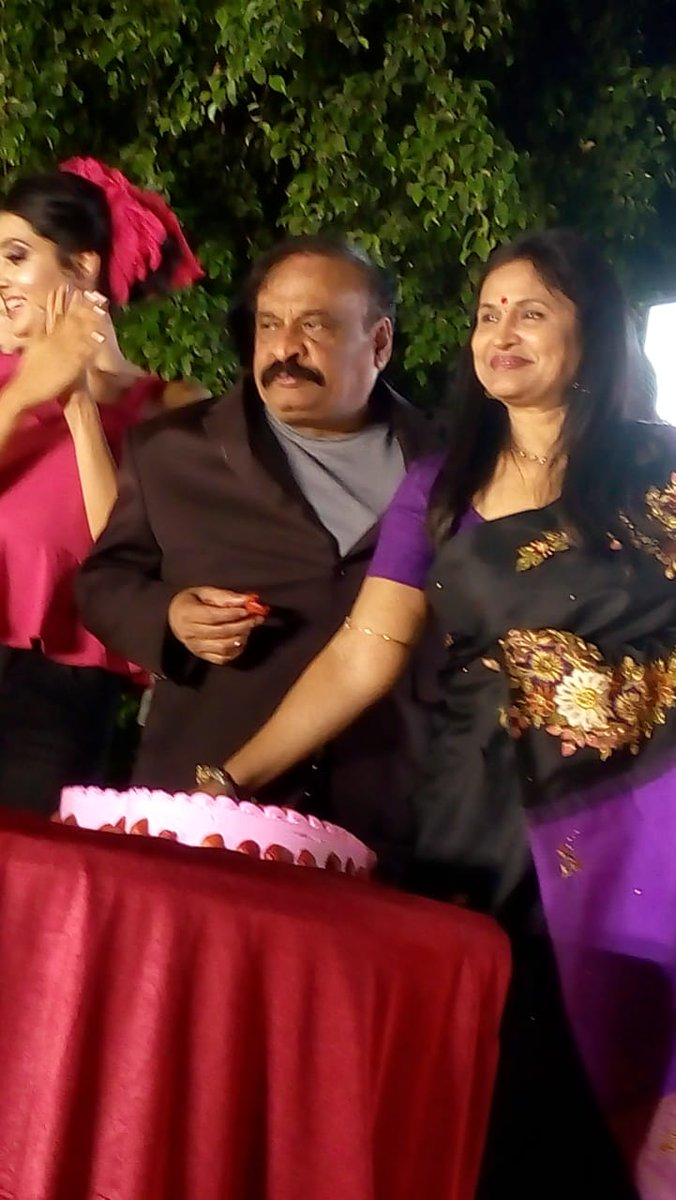 Our Chairman, Mr. Rajeev Reddy celebrates Valentine's Day with his wife at Country Club - Begumpet. It was an honour to bear witness to the love they share and the guests at Darling's Day Out got to partake in the same. #DayOfLove #ValentinesDayCelebrations
