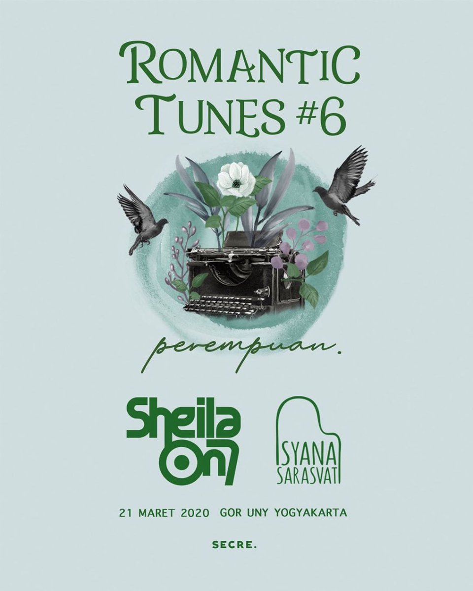 ROMANTIC TUNES #621 MARET 2020Di GOR UNY JOGJA.Menampilkan @sheilaon7 dan @isyanasarasvatiNgomong-ngomong siapa nih yang sudah mengamankan tiket konser ROMANTIC TUNES ini sobh?
