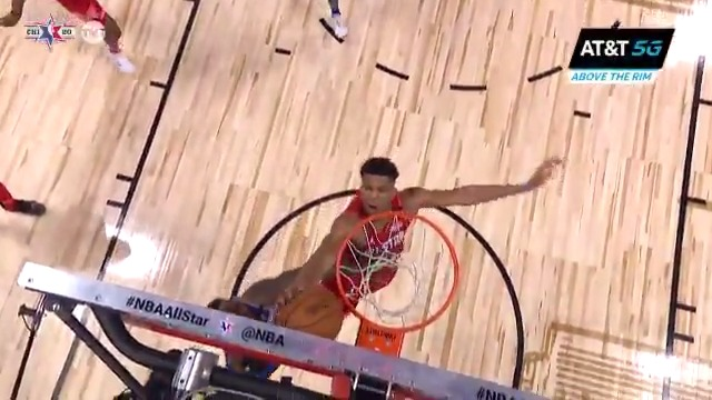 Watch: Steph Curry fired up for Giannis Antetokounmpo's All-Star block