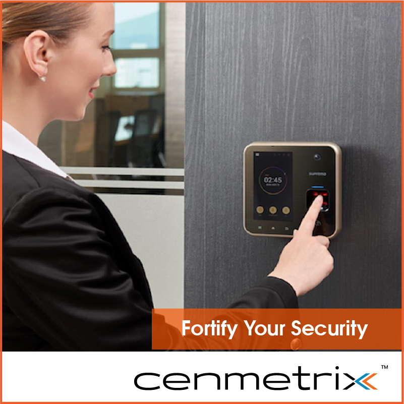 An advanced fingerprint access control and time attendance terminal to guarantee security and accuracy of employee attendance records. #AccessControl #TimeandAttendance #FingerprintMachine Inquire now: http://www.cenmetrix.lk/contact-uspic.twitter.com/Vu7K6iQtFE