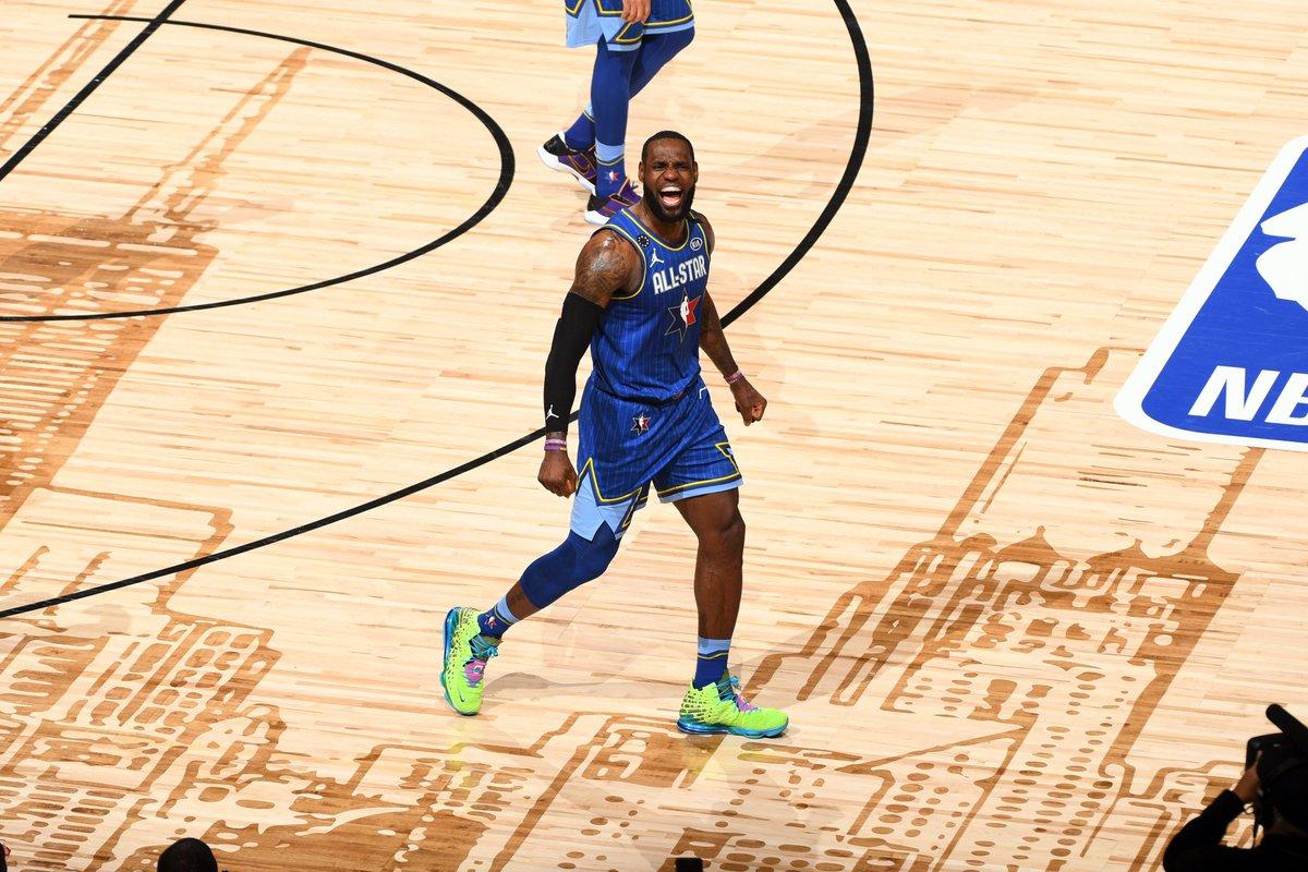 Team LeBron locks down the win #NBAAllStarGame 🏆
