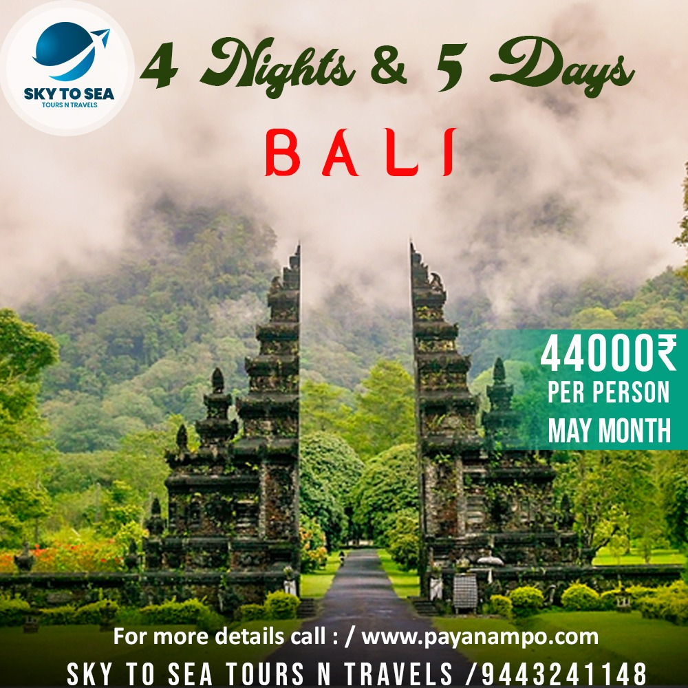 @SkyToSeaToursN1  For bookings: 9443241148 Travel  BALI for this Vacation!!! #skytoseantravels #travel #besttemple #vietnam #offfer #travelphotography #safe #comfort #wildlife #photography #nature #travelgram #love #photooftheday #instatravel #islands #resorts #instagoodpic.twitter.com/0BPMfkEqct