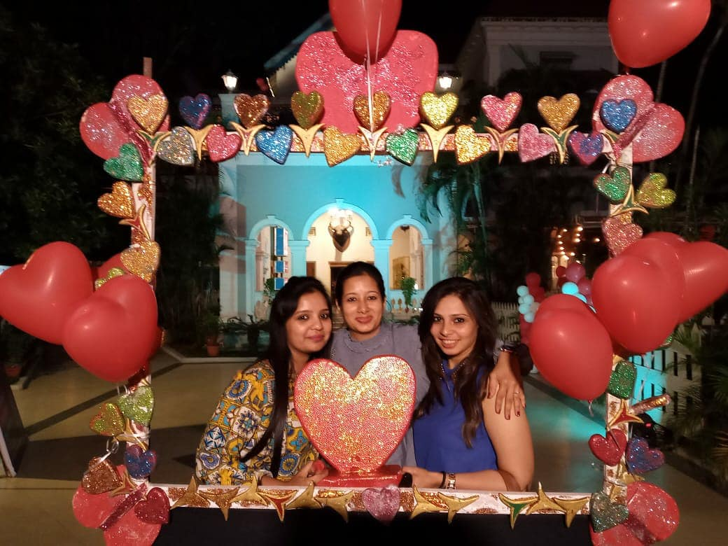 It was amazing to see guests come out to celebrate the Valentine's spirit with the ones they love at Country Club Begumpet's Darling's Day Out 2020. #ValentonesCelebrations #DarlingsDayOut #DayOfLove