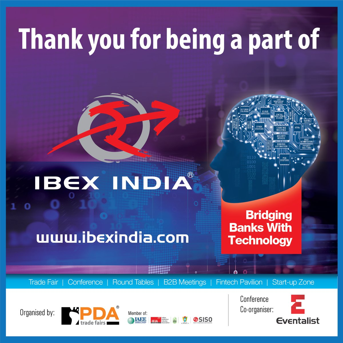 We take this opportunity to thank the industry for being a part of @IBEXIndiaExpo 2020.  #BankingTechnology #Fintech #BankingExpo #Finance #InternationalConference #Technology #BankingApplications #Ibex #IbexIndia2020pic.twitter.com/Vca5JotUSa