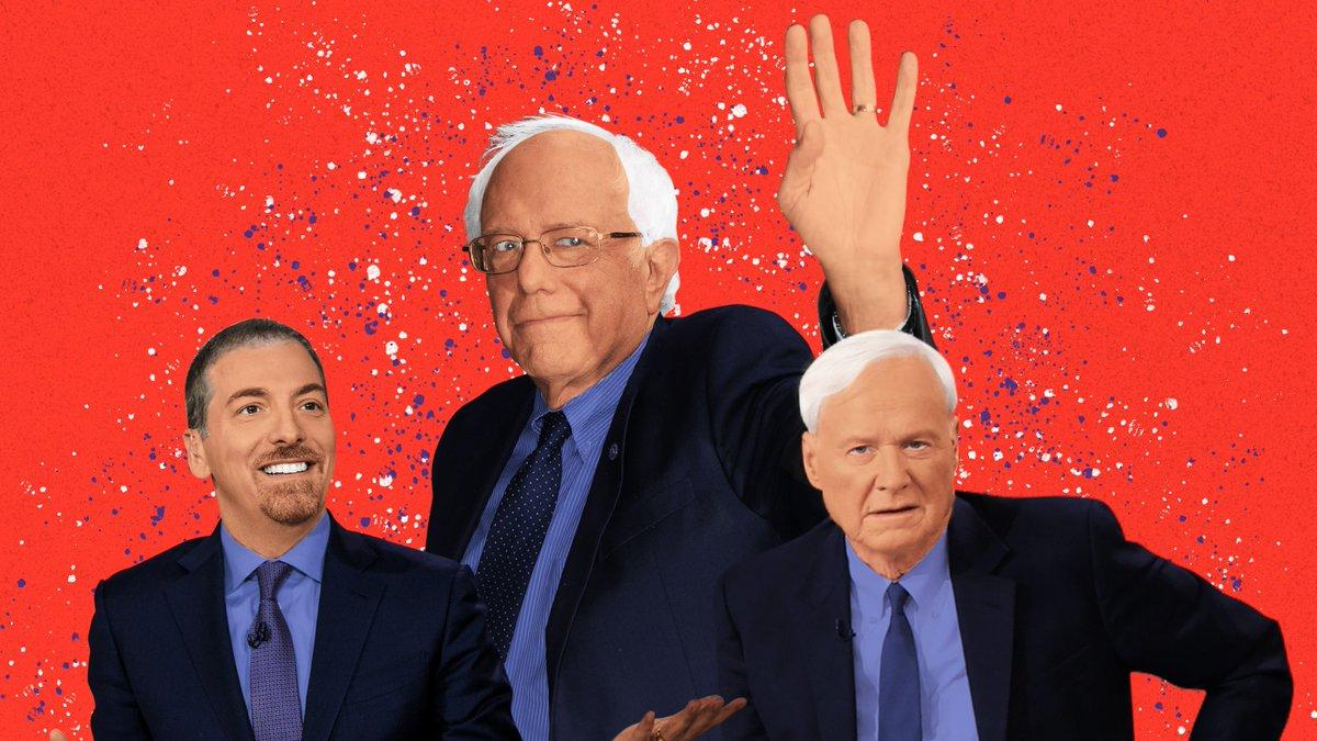 Why does mainstream media keep attacking Bernie Sanders as he wins? gq.mn/gFhe0nl