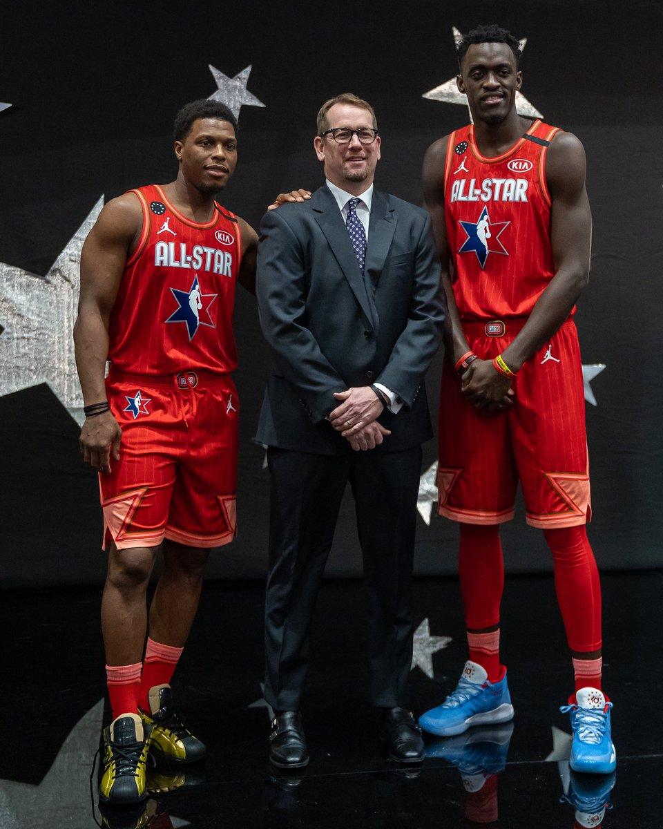 ⭐ Raptors represent! #NBAAllStar #WeTheNorth (📸: @Raptors)