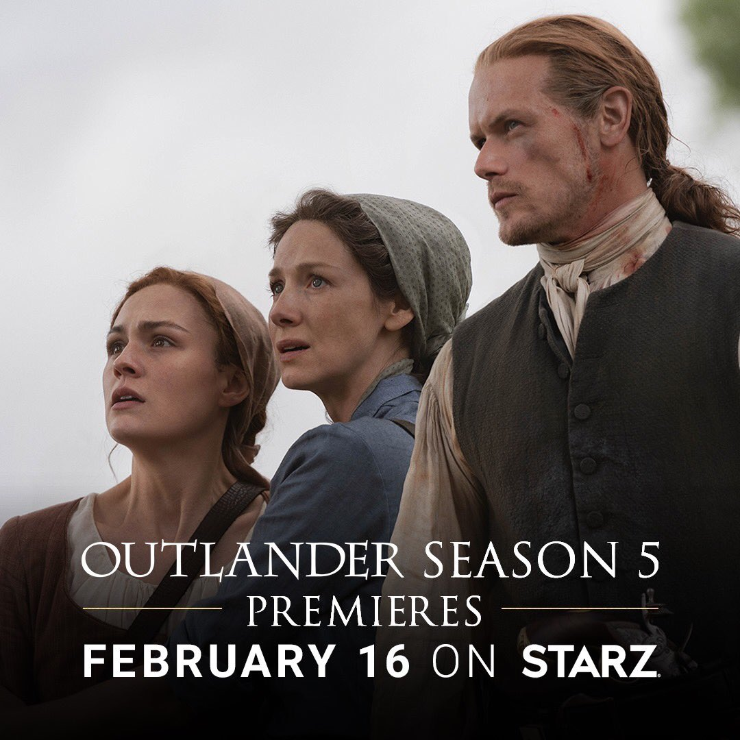 Apologies to my followers tonight as I indulge in my appreciation for the #OutlanderSeason5Premiere with like-minded Sassenachs. <br>http://pic.twitter.com/gBVKP5pyPu