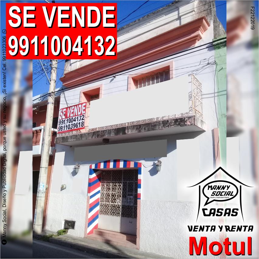 #BienesRaíces Para #Comercio u #Oficinas, Casa en Venta en el Centro de #MotulYuc calle principal 27 / 24 y 22; 90 m de fondo, 12 m de frente; sala, comedor, cocina y baño; planta alta 2 recámaras; trato directo llame al 9911004132. © 2020 #MannySocial #CasasEnVenta #FelizDomingopic.twitter.com/tBIQdTkhLm