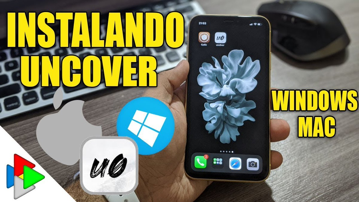 INSTALANDO JAILBREAK IOS 13 A12 (XS / XR) A13 (11 / 11 PRO) WINDOWS E MAC #Mac #Windows #Unc0ver #Altstore #Jailbreak #iPhoneXr #iPhone #Felippetek 🎥 - youtu.be/QscpprhQ3yo