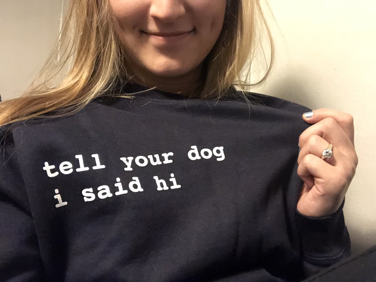 My fiancé won Valentine's Day this year… @dog_rates ❤️🐕👏🏼 Thank you, sweetie!